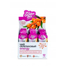 GoldenMix Energy, облепиховая концентрированная основа для приготовления чая