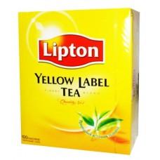 Чай Lipton Yellow Label, 100 пак.